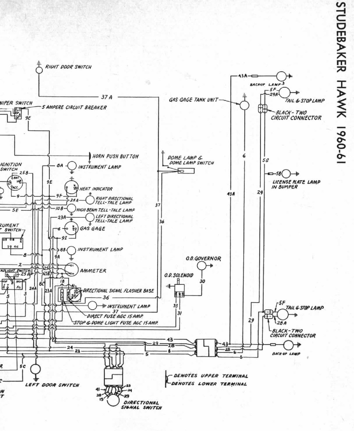 1964 Avanti Wiring Diagram The Portal And Forum Of Bob Johnstone S Studebaker Page Rh Info Org Bonds Movie 1987