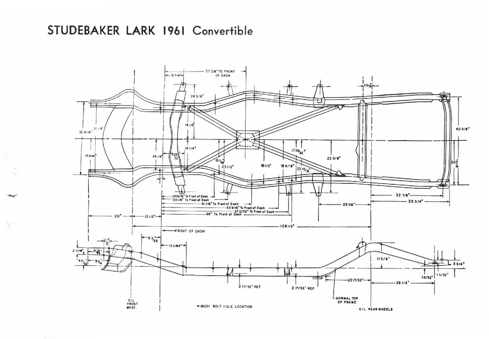 1960 Studebaker Lark Wiring Diagram Bob Johnstones And Avanti Page Hawk